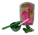 Набор инструмента для домашнего макияжа 4 в 1 от DIY, фото 4