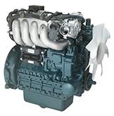 Бензин  WG2503-G-E3  кВт / л.с .: 45,5 / 61,0; об/мин: 2700; Выбросы: уровень 2 EPA / уровень CARB 3