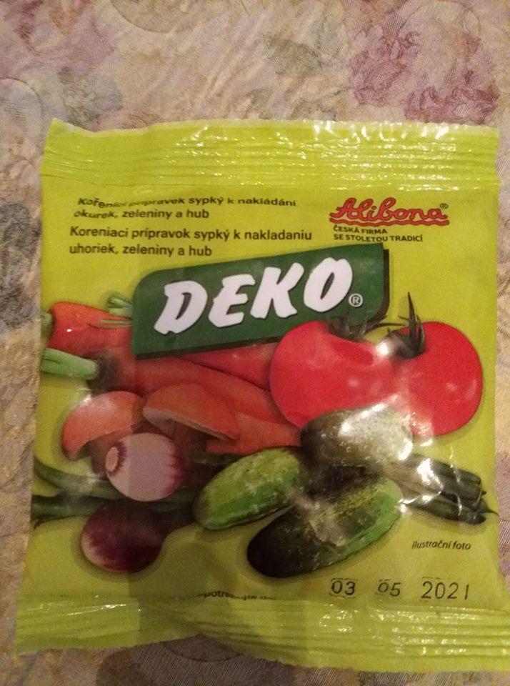 Деко Deco смесь для заготовок без стерелизации 100г.Венгрия