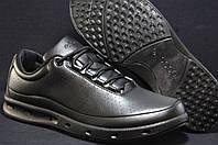 Демисезонные мужские кроссовки ECCO черные