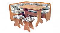 Кухонный уголок с раскладным столом Фараон  (Пехотин) 1600х1200х850мм