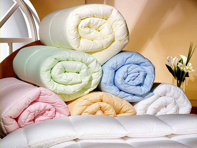 Одеяла силиконовые двуспальные (Полиэстер)