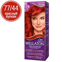 Wellaton Краска для волос №77/44 Красный вулкан (крем-краска, стойкий насыщенный цвет)