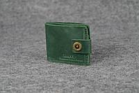 Классическое портмоне с монетницей | Зеленый Винтаж , фото 1