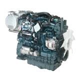 Дизель  V3307-CR-Т  КВт / л.с .: 55,4 / 74,3; об/мин: 2600; Выбросы: готовность к ЕС V
