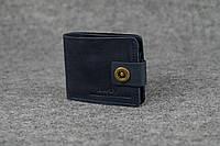 Классическое портмоне с монетницей | Синий Винтаж