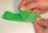 Маркировочная повязка-липучка на ногу коровы