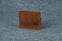 Классическое портмоне с монетницей | Винтажный Коньяк, фото 1