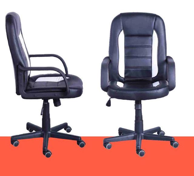 Кресло Дрифт (1699) к/з PU черный/белые вставки. Вы можете также заказать кресло Дрифт как  и с жёлтыми, так и с белыми перфорированными вставками из высококачественного заменителя кожи которые отлично поддерживают спортивный стиль.