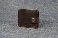 Классическое портмоне с монетницей | Винтажный Кофе, фото 1