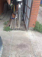 Крепеж для дымоходов (на две точки опоры)