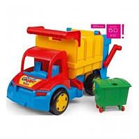 """Большой игрушечный мусоровоз Wader """"Гигант"""" (67000)"""