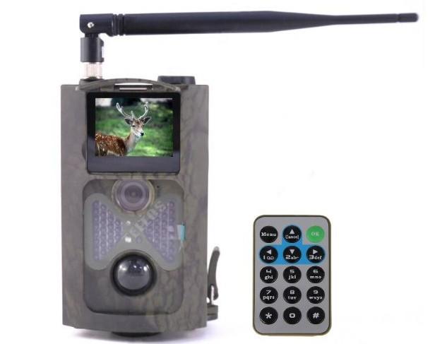 Охотничья GSM 3G камера HuntCam HC-550G - vision-s.pro в Киеве