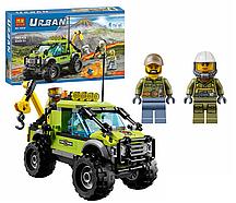 Конструктор Bela City Грузовик исследователей вулканов 10638 (Аналог Lego City 60121) 185 дет