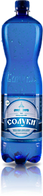 Мінеральна природна лікувально-столова вода «Солуки»1,5л, сильногазована