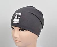 Трикотажная шапка Adidas весна-осень., фото 1