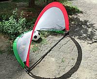 Футбольные ворота тренировочные складные в чехле (2 шт)