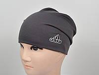 Трикотажная шапка Adidas весна-осень.