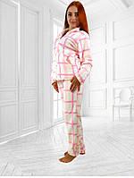 Домашний теплый и мягкий костюм пижама