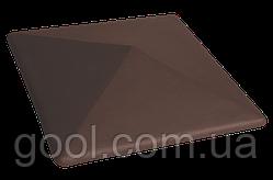 Колпак керамический клинкерный King Klinker цвет коричневый размер 310х310х80 мм