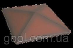 Колпак керамический клинкерный King Klinker цвет таинственный сад размер 310х310х80 мм