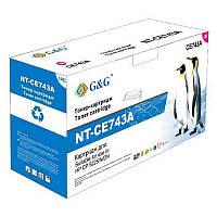 Картридж аналог HP CE743A Magenta для HP CP5225 (G&G NT-CE743A)