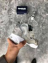Женские кроссовки Reebok Instapump Fury Og Grey White V65751, Рибок Инстапамп, фото 2
