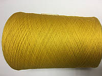 Кэшвул 100%, желтого цвета, размер 1500 метров в 100 граммах.