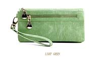 Женский кошелек-клатч  Miyahouse все цвета Светло зеленый