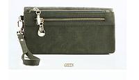 Женский кошелек-клатч  Miyahouse все цвета Темно зеленый