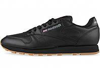 Мужские кроссовки Reebok CLASSIC LEATHER Black/Gum
