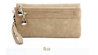 Женский кошелек-клатч  Miyahouse все цвета Светло коричневый