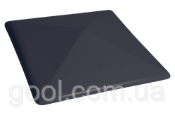 Колпак керамический клинкерный King Klinker цвет Polar night размер 310х310х80 мм