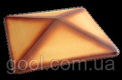 Колпак керамический клинкерный King Klinker цвет Desert rose tone размер 310х310х80 мм