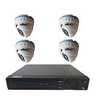 4-канальный комплект AHD видеонаблюдения Oltec AHD-914/AHD-DVR-44