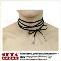 Чокер-шнурок (choker) ожерелье,колье на шею