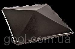 Колпак керамический клинкерный King Klinker цвет Onyx black размер 310х310х80 мм