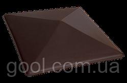 Колпак керамический клинкерный King Klinker цвет Drop of Calvados размер 310х310х80 мм