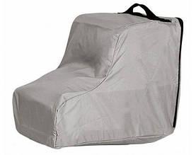 Чехол для обуви с ручкой Tatonka Trekking Shoe Bag grey (серый), материал - 200 den Polyester PU TAT 3155.025