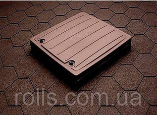 Покрівельний люк коричневий HUOPA 963*963*211мм