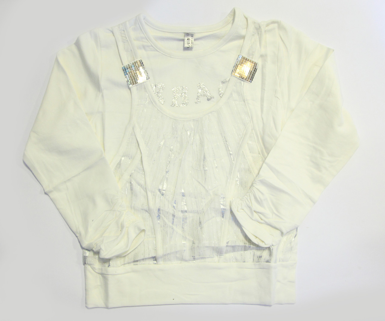 Туника белая (8-12 лет)