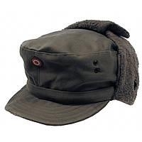 Зимняя шапка (кепи), олива. ВС Австрии, оригинал.