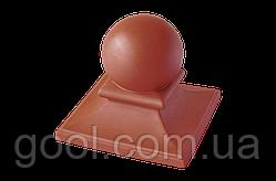 Колпак керамический клинкерный King Klinker Royal размер 445х445х250 мм