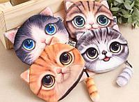 Кошелек 3D Котик оригинальный подарок