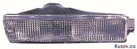 Указатель поворота в бампере VW Golf II 83-91 левый, дымчатый (FPS)