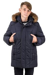 Зимняя куртка парка на  мальчиков и подростков Лондон  34-40
