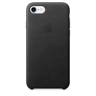 Кожаный чехол для iPhone 7 Black MMY52ZM/A