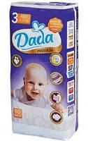 Подгузники - Dada Premium 3 midi ( 4 - 9 кг) 60 шт.