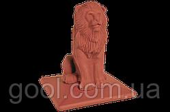 Колпак керамический клинкерный King Klinker Royal Lion размер 445х445х520 мм