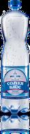 Мінеральна природна столова вода «Солуки Плюс» 1,5л, сильногазована